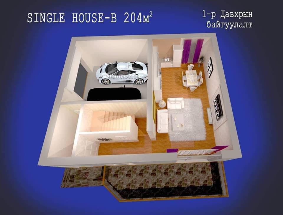 Single house B